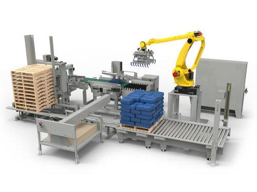 塑料粒子碼垛機器人