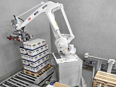飲料碼垛機器人