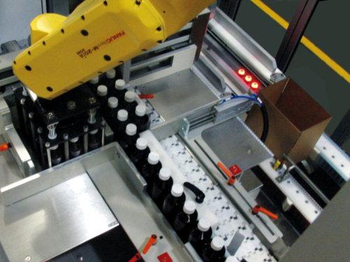 全自動包裝碼垛生產線