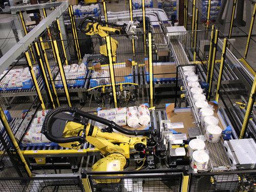 全自动包装码垛生产线