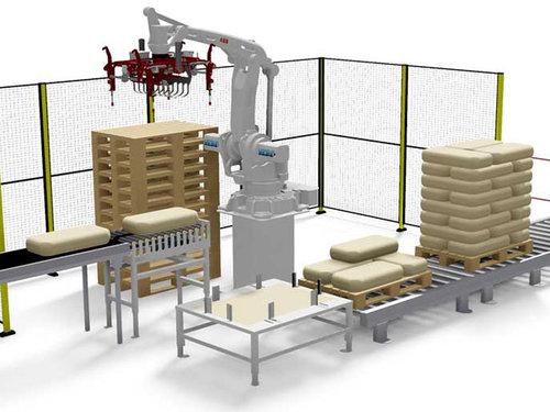 工業機器人在包裝碼垛的應用