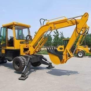 海南建筑机械——挖掘机械组成