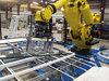 玻璃板移动机器人