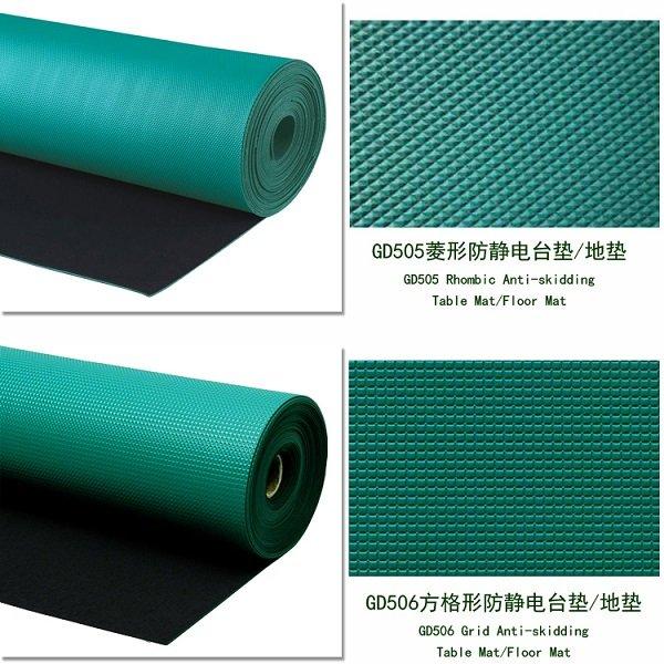 PVC防静电胶皮、哪里有大量供应PVC防静电地垫台垫