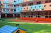 西安幼儿园人造草坪施工