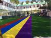 西安幼儿园人造草坪批发