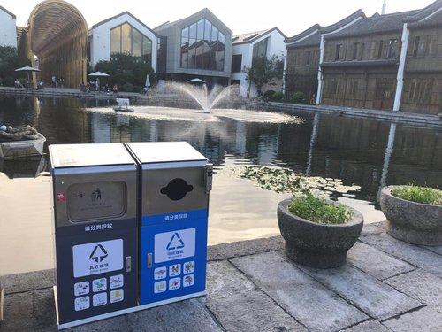 智能感应环保垃圾箱厂家