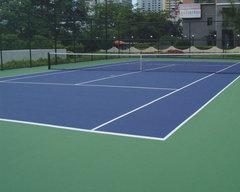 陕西网球场地施工