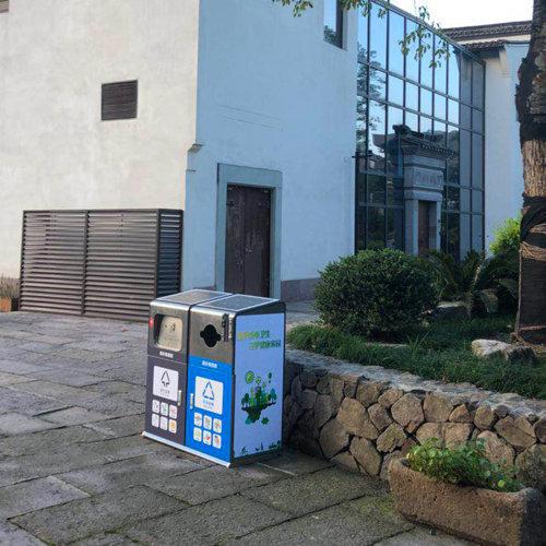 太阳能智能垃圾箱供应商