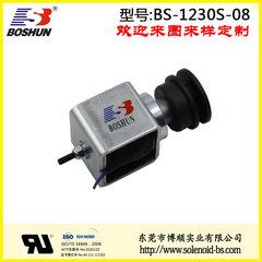 厂家供应长时间通电和电压24V直流式的医疗床电磁铁推拉式