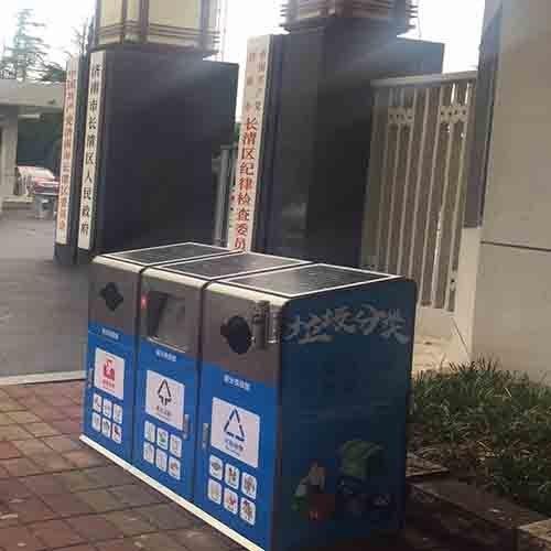 太阳能智能压缩垃圾箱厂家