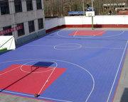 西安某篮球场悬浮地板