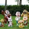 福建雕塑公司_福州卡通动漫雕塑厂家