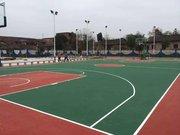 西安篮球场划线标准