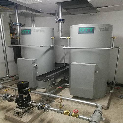 廊坊体育场热水项目