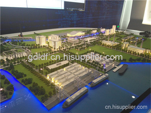 广州工厂沙盘建筑模型价格