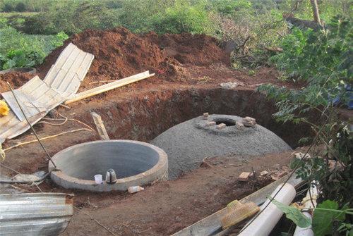 海口美兰区农村户用沼气池