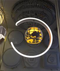 西安异形餐厅吊灯