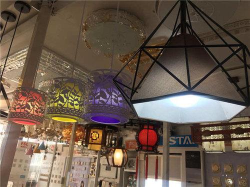 西安彩色餐厅吊灯