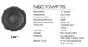 NBC系列低音扬声器