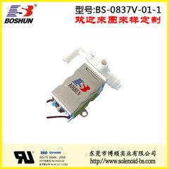 博顺电磁阀厂家供应电压12V直流式的常闭式按摩设备电磁阀一位两通式