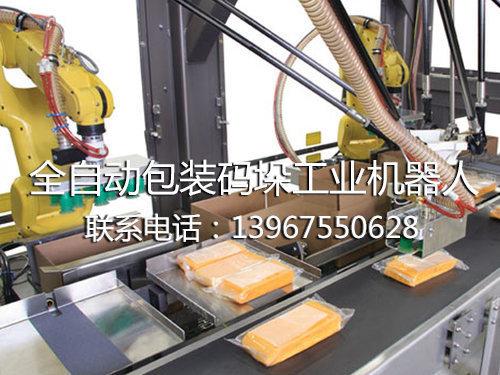 全自動包裝碼垛工業機器人