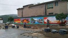 贵州手绘墙