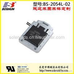 厂家供应交流式电磁铁电压220V的自动贩卖机电磁铁推拉式长行程15mm