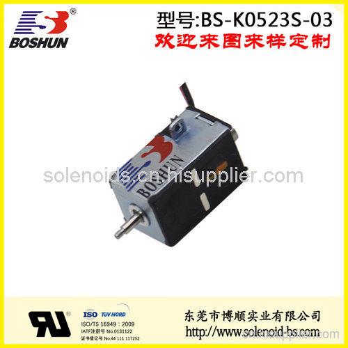厂家供应微型电磁铁推拉式直流电压12V的双向自保持式电磁铁长行程