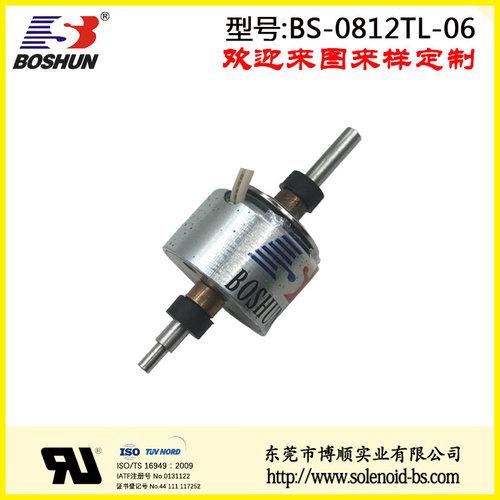 厂家供应圆管式电磁铁电压12V直流式的贴片机电磁铁推拉式长行程