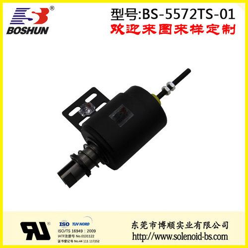厂家供应螺线管电磁铁直流电压90V的地铁门电磁铁推拉式长行程14mm