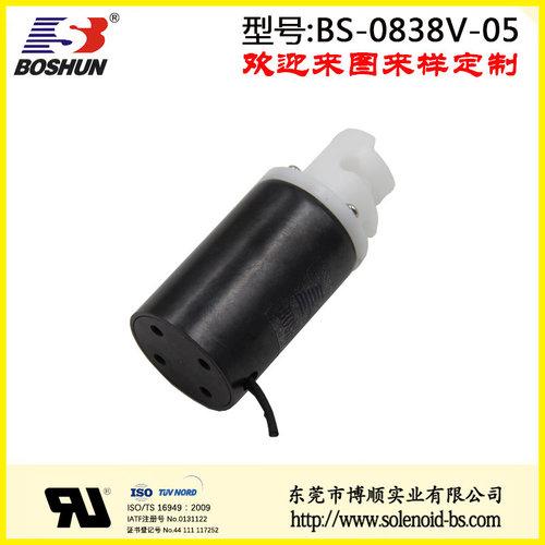 厂家供应圆管式直流电压DC24V连续型高寿命的医疗设备电磁阀