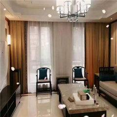 贵阳市客厅的窗帘设计