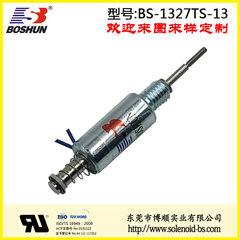 厂家供应圆管式电磁铁直流电压DC12V*大通电时间2秒印花机电磁铁长行程4mm