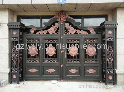 贵州卫士铝艺大门供应商