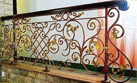 贵阳铁艺栏杆加工