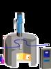 DISK0自动静电涂装机 欧米伽