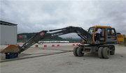 轮式挖掘机2