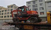轮式挖机1