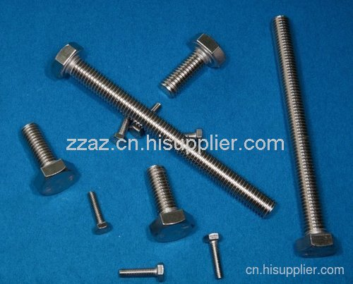 漳州奥展直供不锈钢304外六角螺栓厂家