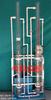 活性炭吸附法凈化實驗設備 (4柱氣水反沖)
