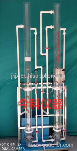 活性炭吸附法净化实验设备 (4柱气水反冲)