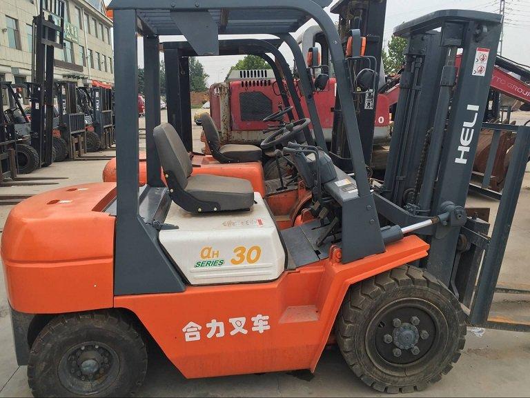20吨二手叉车市场价格 青州升旺工程机械提供质量硬的二手叉车