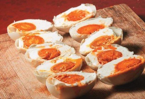 鸭蛋的吃法