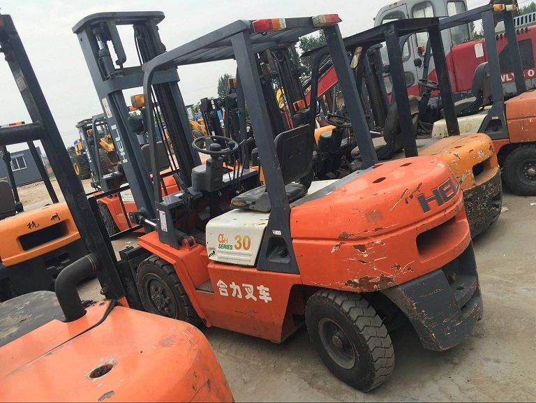 20吨二手叉车市场价格|青州升旺工程机械专业供应二手叉车