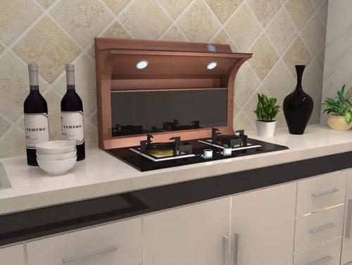 老厨房油油腻腻?森厨分体式集成灶帮你秒变无烟厨房