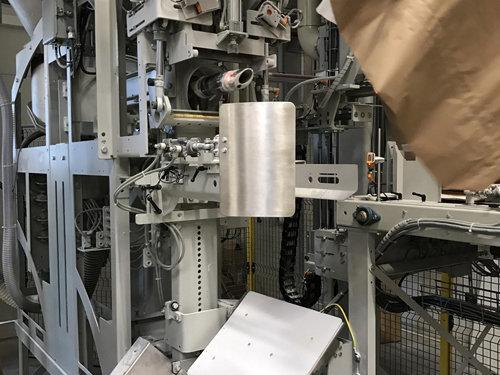阀口袋、工业包装袋及智能粉体灌装生产线