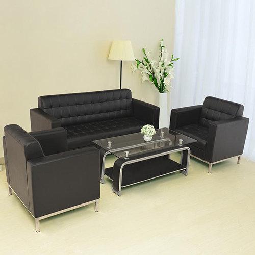 海口办公家具的办公沙发究竟是真皮的好?还是布艺的好?