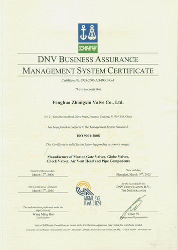 DNV ISO 2008