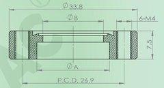 焊接法蘭(螺紋孔)